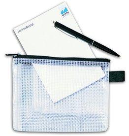 Rexel Reißverschlusstasche Mesh Bag, A4, 345x270mm, fl/sw