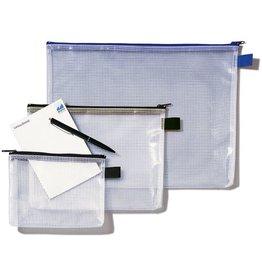 Rexel Reißverschlusstasche Mesh Bag, A5, 250x190mm, farbl./bl
