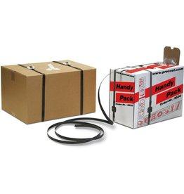 Pressel Umreifungsband Handy-Pack, PP, 12 mm x 600 m, 1.300 N, schwarz