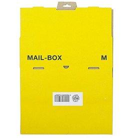 smartboxpro Versandkarton MAILBOX, M, Steckverschl., i: 331 x 241 x 104 mm, gelb