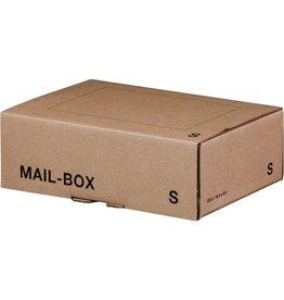 smartboxpro Versandkarton MAILBOX, S, Steckverschl., i: 249x175x79mm, braun