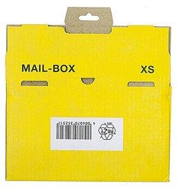 smartboxpro Versandkarton MAILBOX, XS, Steckverschl., i: 244x145x38mm, gelb