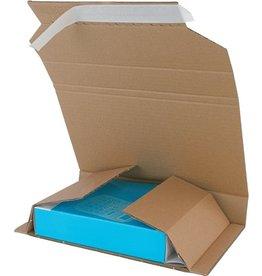 Pressel Versandkarton Multi-Mail, C5, Wellpappe, 244 x 169 x - 70 mm, braun
