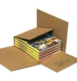 Pressel Versandkarton Multi-Mail, Wellpappe, 217 x 155 x 10 - 75 mm, braun
