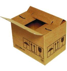 MULTI-Cargo Versandkarton QUiCK Lock uno, Wellpappe, 1w., i: 384x284x167mm