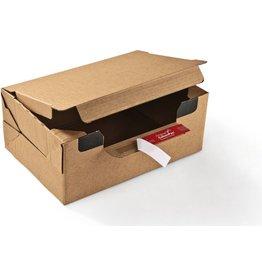 ColomPac Versandkarton Return® Box, XL, Wellpappe, 1wellig, i: 384x290x190mm