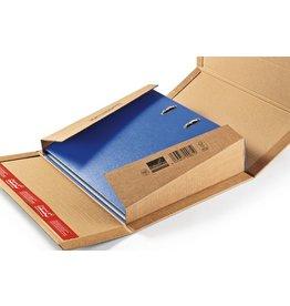 ColomPac Versandkarton, für Ordner, Wellpappe, i: 320 x 290 x 35 - 80 mm, braun