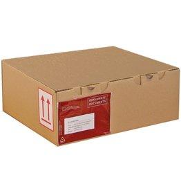 Pressel Versandkarton, Wellp., 1w., B, i: 430x300x80mm, braun, FEFCO: 1000