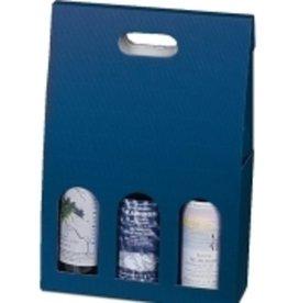 Pressel Versandkarton, Wellpappe, 100 x 280 x 460 mm, blau