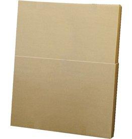 Pressel Versandkarton, Wellpappe, 2teilig, i: 700 x 85 x 500 - 900 mm, braun