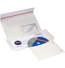 Pressel Versandtasche, für: 1 CD/DVD, hk, 223x125mm, weiß