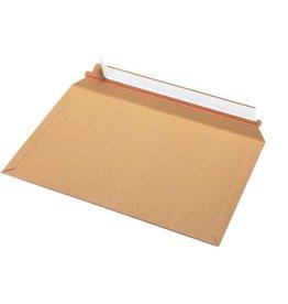 Pressel Versandtasche, o.Fe., hk, A4, 353x250mm, 450g/m², Karton, braun