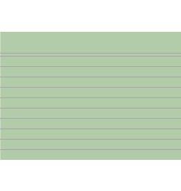 EXACOMPTA Karteikarte, liniert, A7, Karton, 205 g/m², grün
