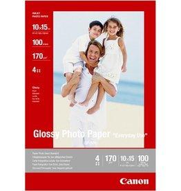 Canon Inkjetpapier GP-501, 10 x 15 cm, 170 g/m², weiß, glänzend