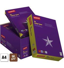 STAPLES Laserpapier colour laser, A4, 90 g/m², weiß
