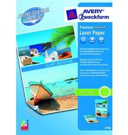 AVERY Zweckform Laserpapier Premium, A4, 200g/m², weiß, hochgl.