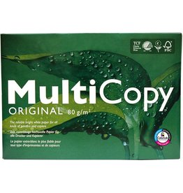 MultiCopy Multifunktionspapier ORIGINAL, A4, 80 g/m², weiß, ungeriest