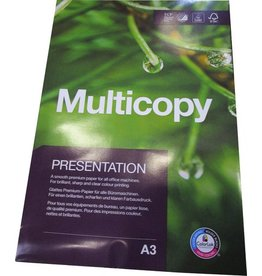 MultiCopy Multifunktionspapier Presentation, A3, 120 g/m², ECF, weiß