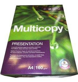 MultiCopy Multifunktionspapier Presentation, A4, 160 g/m², ECF, weiß