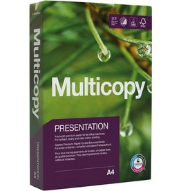 MultiCopy Multifunktionspapier Presentation, A4, 90 g/m², ECF, weiß