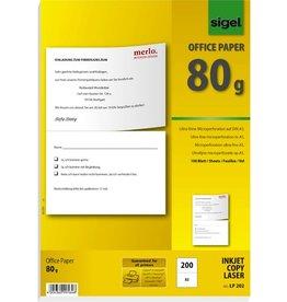 sigel Multifunktionspapier, A5, 80 g/m², weiß