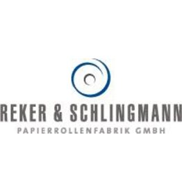 Reker & Schlingmann Thermorolle, 1fach, 57 mm x 25 m, Kern-Ø: 45 mm, weiß [5st]