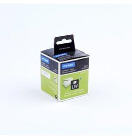 DYMO Etikett LabelWriter, Adressetikett, Papier, 89 x 28 mm, weiß