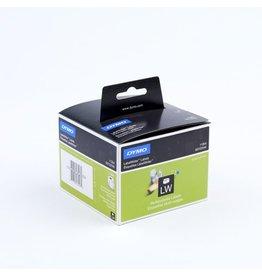 DYMO Etikett LabelWriter, sk, ablösbar, Papier, 57x32mm, weiß