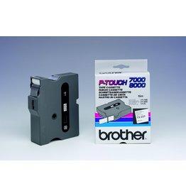 Brother Schriftbandkassette TX, 24 mm x 15,4 m, schwarz auf weiß