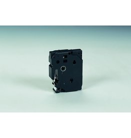 Brother Schriftbandkassette, TZe, unlaminiert, 18mmx8m, schwarz auf weiß