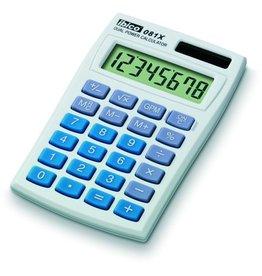 ibico Taschenrechner, 081X, Solar/Batterie, flaches Display, 8stellig, 1z.