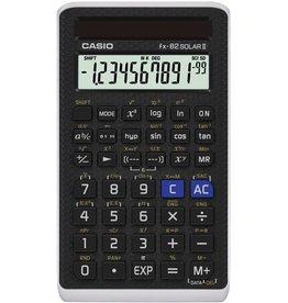 Casio Taschenrechner, FX-82Solar II, flaches Display, 10+2stellig, 1zeilig