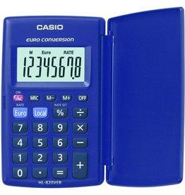 Casio Taschenrechner, HL-820VER, Batterie, flaches Display, 8stellig
