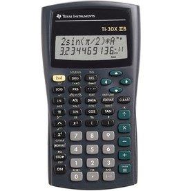 TEXAS INSTRUMENTS Taschenrechner, TI-30X IIS, flaches Display, 11/10+2stlg., 2z.