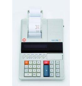 TATriumph-Adler Tischrechner, 121 PD Eco, druckend, bewegliches Display, 12stellig
