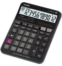 Casio Tischrechner, DJ-120D Plus, angewinkeltes Display, 12stellig, 1zeilig