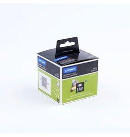 DYMO Etikett LabelWriter, Diskettenetikett, perm., Pap., 54x70mm, weiß