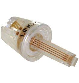 LINDY Kabelentwirrer, für Telefonhörer, transparent