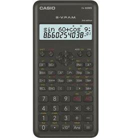 Casio Taschenrechner, FX-82MS, Batteriebetrieb, 12 / 10 +2stellig, 2zeilig