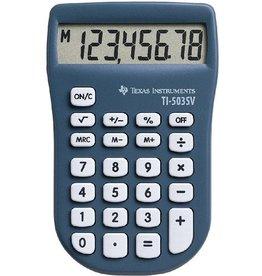 TEXAS INSTRUMENTS Taschenrechner, TI-503 SV, Batterie, flaches Display, 8stellig, 1z.