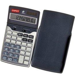 STAPLES Taschenrechner, Travel, Solar/Batterie, bewegliches Display, 12stlg.