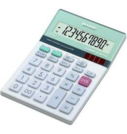Sharp Tischrechner, EL-M711G, angewinkeltes Display, 10stlg., 1z.