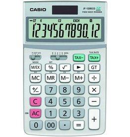Casio Tischrechner, JF-120ECO, Solar/Batterie, 12stlg., 107x173x26,3mm, 155g