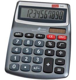 STAPLES Tischrechner, Mini 540, Solar/Batterie, 10stlg., 107,5x139x30mm, 90g