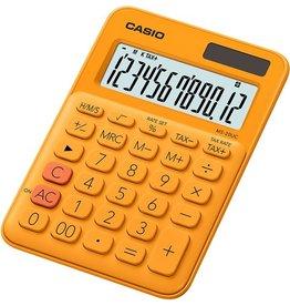 Casio Tischrechner, MS-20UC, 12stellig, 105 x 149,5 x 23 mm, 110 g, orange