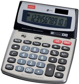 STAPLES Tischrechner, Multi 560, Solar/Batterie, bewegliches Display, 12stlg.