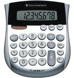 TEXAS INSTRUMENTS Tischrechner, TI-1795 SV, 8stellig, 118 x 138 x 10 mm, 120g, silber