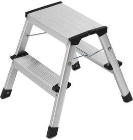Hailo Klapptritt, L90, Aluminium, 2 x 2 Stufen, 1,9 kg, Tragf.: 150 kg