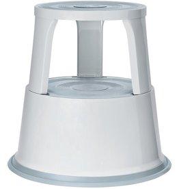 WEDO Rollhocker, Metall, 29,5/43,5 x 44 cm (oben/unten), lichtgrau