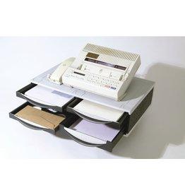 Fellowes Büromaschinenständer, 51,1x39,4x14cm, Tragf.: 36kg, platin/graphit